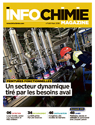 INOVERTIS est dans «Info ChimieMagazine » du mois de septembre 2019