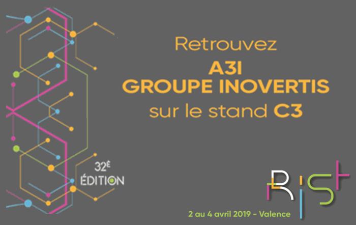 Rendez-vous au RIST à Valence du 2 au 4 avril 2019